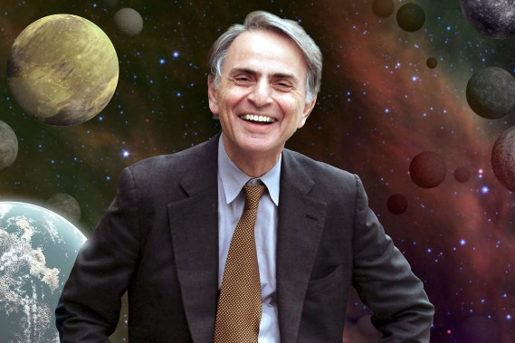 Fysikeren Carl Sagan