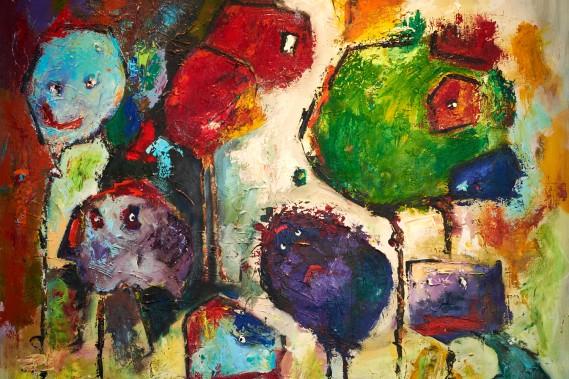 Morten Jørgensen</br>Abstrakt maleri