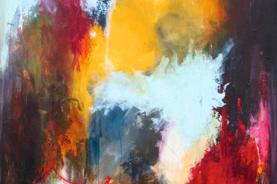 Anne Lethan - Abstrakt Maleri